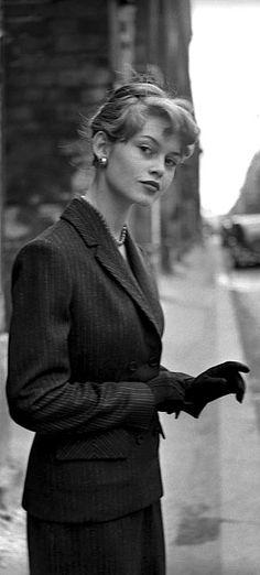 Brigitte Bardot By Georges Dambier Paris, 1954.