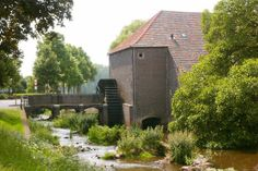 Flour mill, Grathemermolen, Grathem, the Netherlands.