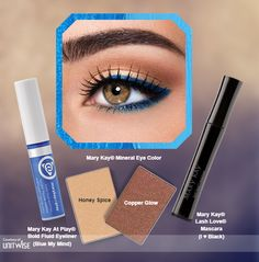 "Mary Kay ""BLUE My Mind Look"" www.marykay.com/LaShon"