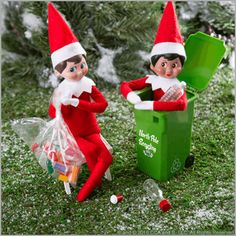 Scout Elves Celebrating Earth Day – The Elf on the Shelf