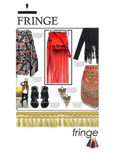 """""""Fringe"""" by fernshadowstudio-com ❤ liked on Polyvore featuring Yves Saint Laurent, Charlotte Russe, Emilio Pucci and MANGO"""