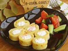 Peynirli Pırasalı Krep | Cheese And Leek Pancakes Recipe