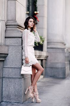 9336eca799f7 fringe dress with block heeled sandals Off White