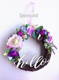 #coronitapentruusadiy #decoratiuni #aranjament #floriartificiale #homedecoration Floral Wreath, Wreaths, Home Decor, Corona, Decoration Home, Room Decor, Bouquet, Flower Band, Interior Decorating