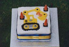 Digger cake - Image pour le pâtissier