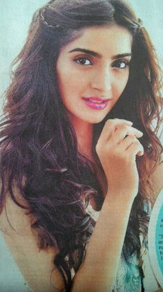 Sonam Kapoor, her hair and makeup