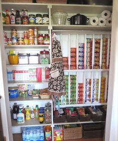 DIY Pantry Organization U2013 Rotating Canned Food System