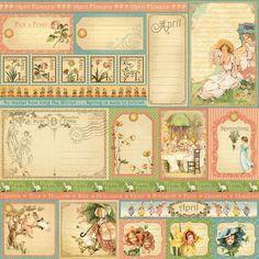 April Journal Cards