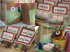 Cute ideas for favors  gina lee photography   redlands photographer   los angeles   children's photographer: Gone' camping...   Redlands Photographer
