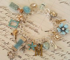 Personalized Photo Charms Compatible with Pandora Bracelets. Charm Bracelet by andrea singarella, via Flickr