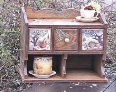"""Купить Полка для кухни """"Оливковая роща"""" дуб. - коричневый, оливковый, полка, полка для кухни"""