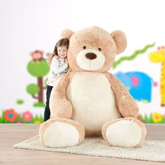 • Größe: 1,80 m• Material: Polyester Party, Teddy Bear, My Favorite Things, Toys, Animals, Material, Stationery Set, Fabric Animals, Dekoration
