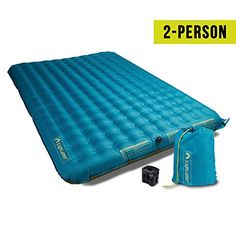 Buy Lightspeed Outdoors 2 Person PVC-Free Air Bed Mattress for Camping and Travel at Discounted Prices ✓ FREE DELIVERY possible on eligible purchases. Camping Equipment, Camping Gear, Minivan Camping, Backpacking, Camping Mattress, Sleeping Bag, Bag Storage, Zip Around Wallet, Pumps
