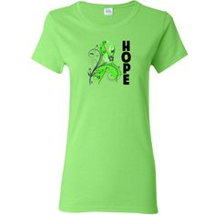Be inspired with hope with Lymphoma Hope shirts, apparel and gifts featuring a beautiful floral accented awareness ribbon to inspire hope while raising awareness. #Lymphomaawareness #Lymphomahope #Lymphomaribbon
