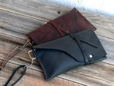 Leather Tobacco Pouch / Cigarette / pipe pouch by FeralEmpire, $48.00