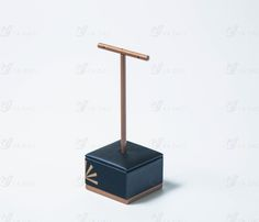 Handmade blue and gold leather wooden jewelry display holder, View jewelry holder, Yadao Product Details from Shenzhen Yadao Packaging Design Co., Ltd. on Alibaba.com