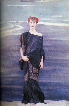 Patrick Demarchelier for Vogue UK, January 1986