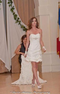 Transformable wedding dress