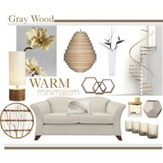 Gray Wood by lisajean1957 on Polyvore featuring polyvore interior interiors interior design home home decor interior decorating Eichholtz By Nord Bloomingville Fab