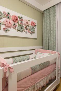 Quarto BB Baby Nursery Decor, Baby Decor, Bedroom Decor, Easy Gifts To Make, Baby Room Design, Princess Room, Creative Decor, Soft Furnishings, Home Interior Design