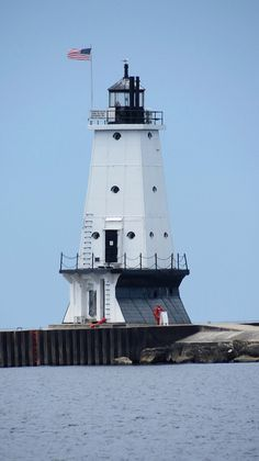 North Pier Lighthouse, Ludington, Michigan | Flickr - Photo Sharing!