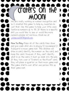 Craters on the Moon...game