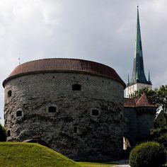 The Fat Margaret tower in Tallinn old town, Estonia | by Anja Gabi