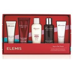 Elemis Top-to-Toe Treats Gift Set. Set off on a voyage of skincare discovery. From soothing and sensual to revitalising, allow your skin and body to explore new sensations. Shop at timetospa> http://bit.ly/1uDmdVE