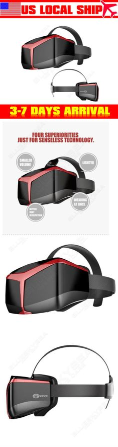 Video Glasses: Us!Ucvr View 3D Full View Vr Virtual Reality Head-Mounted Glasses Visual Control BUY IT NOW ONLY: $34.25