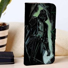 Darth Vader Star Wars | Movie | CUSTOM PERSONALIZED WALLET FOR IPHONE 4/4S 5 5S 5C 6 6 PLUS 7 CASE AND SAMSUNG GALAXY S3 S4 S5 S6 S7 CASE - SYXZC