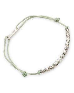 Isabel Marant Trådarmbånd med sølv perler