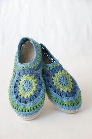 Olen virkannut muutamat espadrillokset puuvillalangasta. Haasteena on puuvillavirkkauksen löystyminen käytössä huolimatta siitä, että niihi... Baby Shoes, Slippers, Boots, Kids, Clothes, Fashion, Crotch Boots, Young Children, Outfits