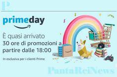 Amazon Prime Day parte oggi 10 luglio e terminerà domani 11 luglio allo scoccare della mezzanotte. Offerte e sconti su migliaia di prodotti.