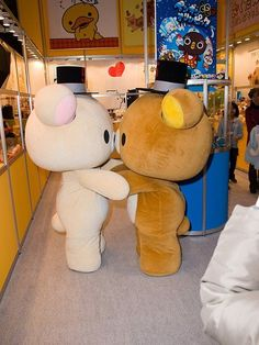 i have always wanted to buy an costume and run around town doing stupid, cute things <3 Rilakkuma
