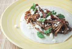 Sunday Slow Cooker:  Tri-Tip Tacos under 200 calories