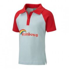 Rainbows Uniform - Essential Girlguiding uniform to buy online . Rainbow Badge, Rainbow Logo, Rainbows Uniform, Brownies Girl Guides, Scout Uniform, Matching Outfits, Hooded Jacket, Girl Outfits, Trousers