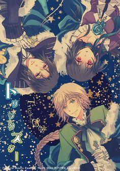 Jack, Oswald, and Lacie from Pandora Hearts Pandora Hearts, Manga Art, Manga Anime, Anime Art, D Gray Man Anime, Manga Box Sets, Girls Anime, Pandoras Box, Vanitas