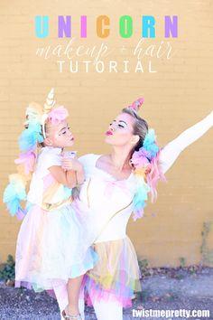 Unicorn Makeup Tutorial! | Halloween Costume Idea - Twist Me Pretty