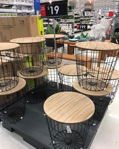 Love these new side tables! Found at Kmart Sunnybank hills! Only $19! #kmartaus #kmart