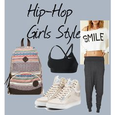 A fashion look from November 2012 featuring Rebel Yell sweatshirts, NIKE sports bras and Pastry sneakers. Browse and shop related looks.