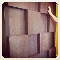 wood panels designed by Project CR+d