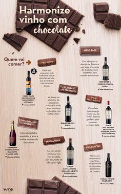 Quer aproveitar a páscoa ao lado de um bom vinho? Damos a dica de harmonizações ideais para você! ;) #wine #vinho #chocolate #pascoa