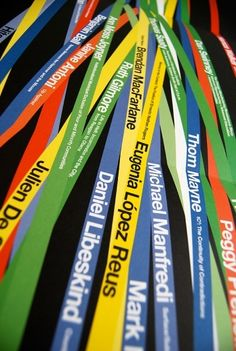 Wristbands at the conference?