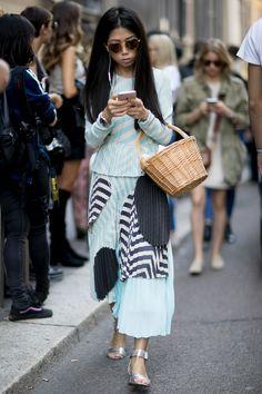 Milan Fashion Week Street Style | Spring 2017 Day 4 – The Impression
