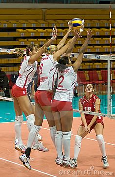 Russian women's volleyball team