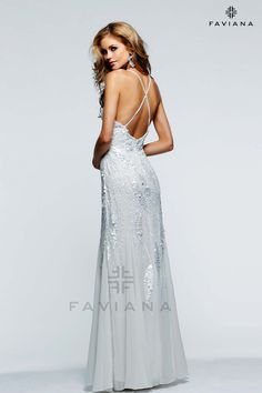 ee43e9f04f0ed Shop designer dresses by Faviana New York. Find your perfect style for  Prom