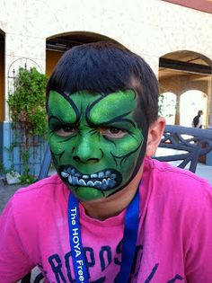 Face Painting Illusions and Balloon Art, LLC: Super Heroes - Iron Man, Hulk, Avenger, Batman, Flowers, Gnomes,Butterflies, Face Painting, Ba...