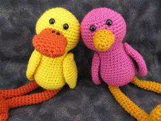 Not Just a Duckie Amigurumi Bird Pattern  from: craftsy.com