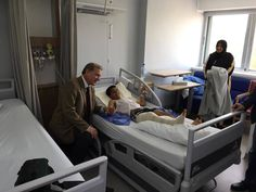 Kontroly pacientů v jordánském Ammánu, kde už týden operují lékaři z Nemocnice Na Bulovce v rámci programu české vlády MEDEVAC.