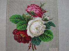 Berlin WoolWork Roses Pattern